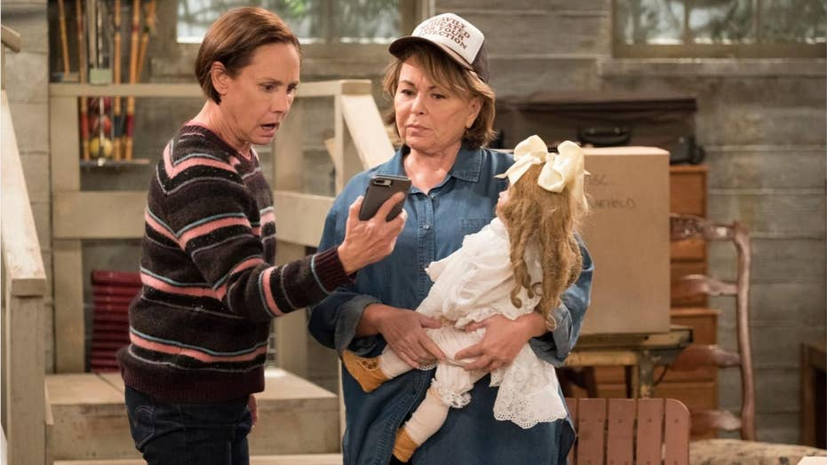 Roseanne blames 'Ambien-tweeting' after ABC cancels show