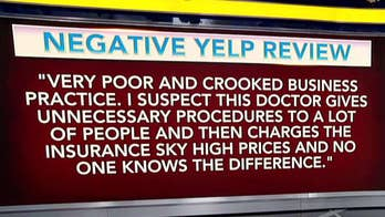 Patient sued over negative Yelp review