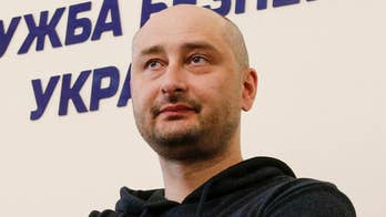 Russian journalist fakes death to stop alleged assassination attempt against him. Amy Kellogg has the story.
