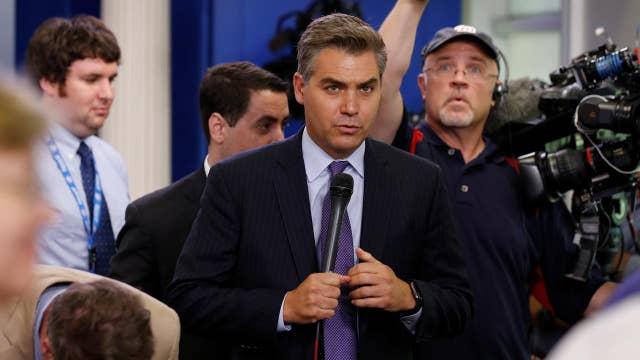 CNN's Jim Acosta slammed for Trump-Kardashian meeting dig