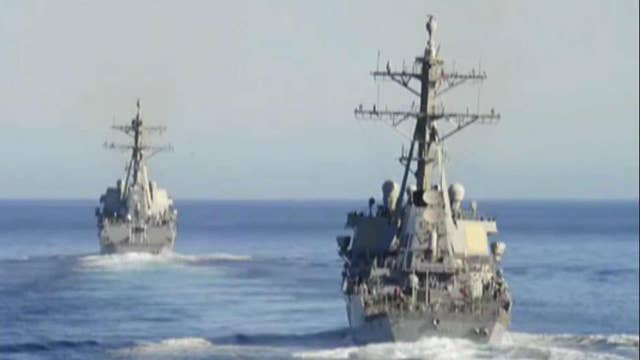 Pentagon warns against military buildup in South China Sea