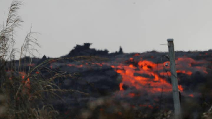 Active fissures keep lava moving across Hawaii