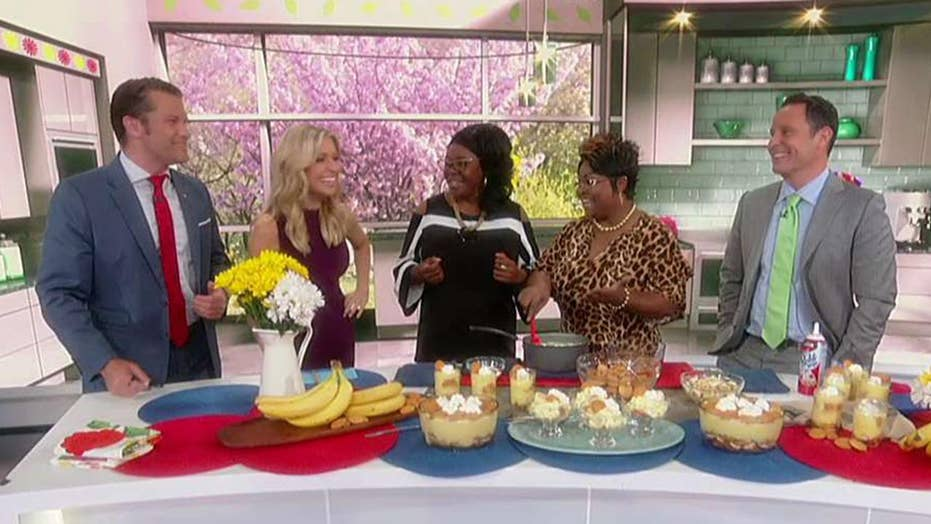 Cooking with 'Friends': Diamond & Silk's banana pudding