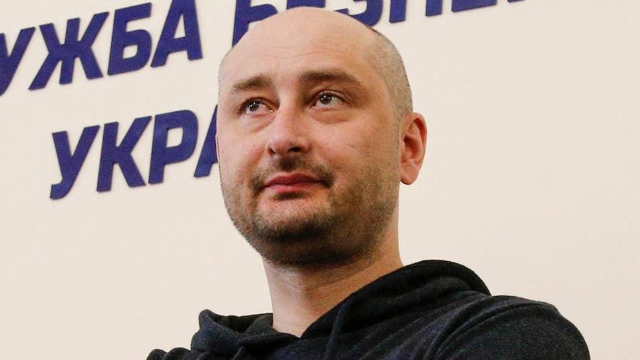 Kremlin reacts to journalist faking death