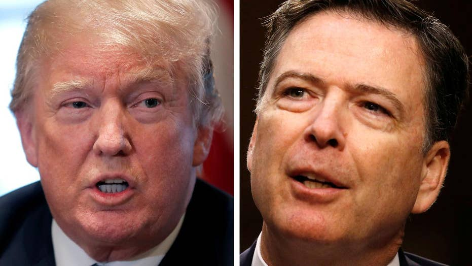Trump claims he did not fire Comey over Russia