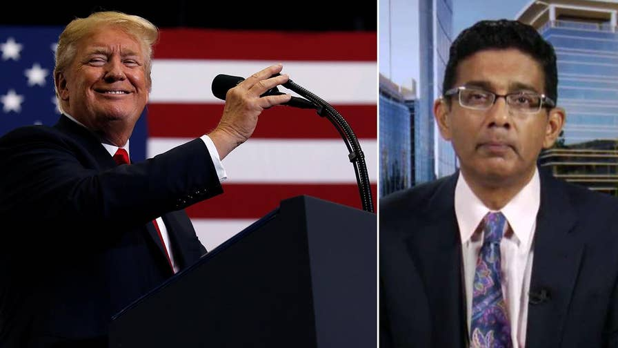 Conservative filmmaker sits down for an exclusive interview with 'Fox & Friends.' D'Souza says he is grateful to President Trump for giving him his rights back.