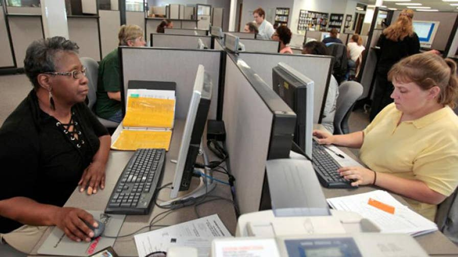 Unemployment rate dropped down to 3.8 percent.