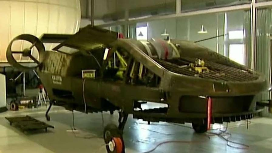 A self-flying war vehicle named the 'Cormorant' is currently being designed, tested in Israel, with plans to move production to the U.S.; Jonathan Hunt has the latest on this groundbreaking technology.