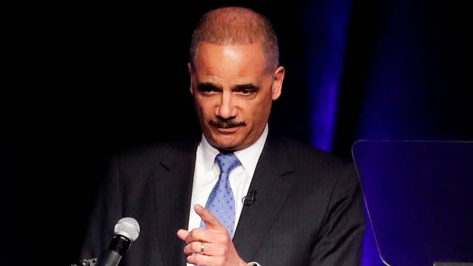Is former AG Eric Holder planning a 2020 White House run?