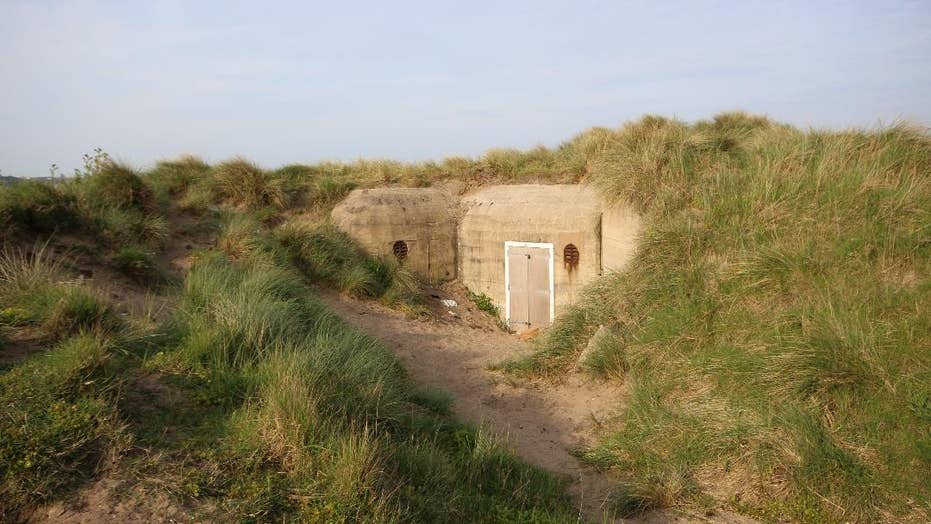 Nazi bunker for sale on Jersey shore