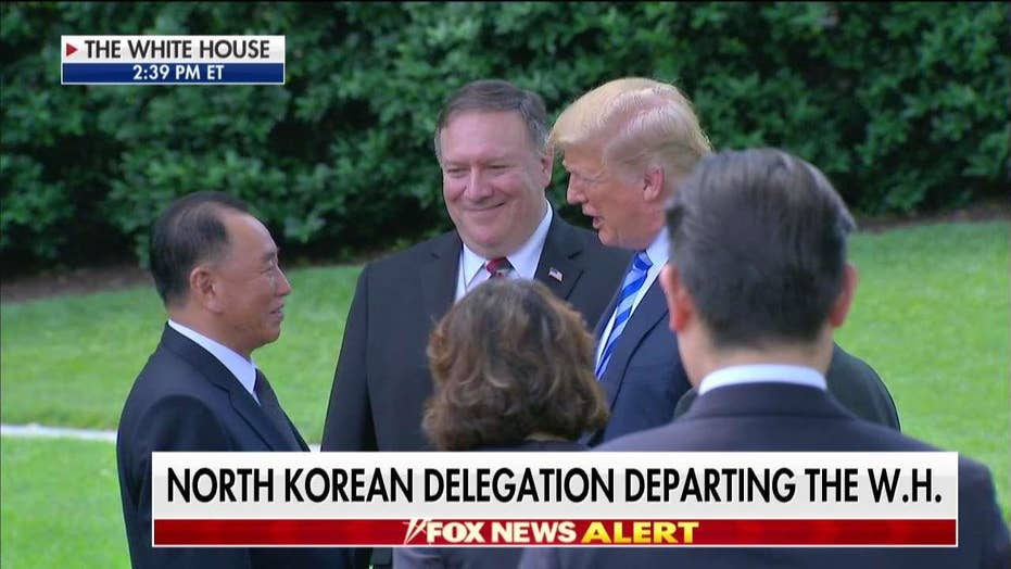 Trump Reacts to Meeting With Korean Spy Chief