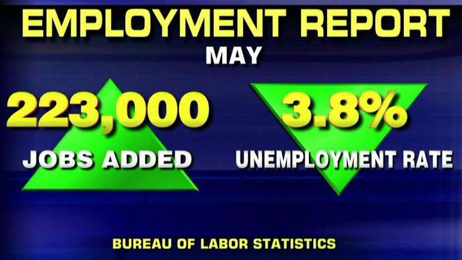 President Trump touts falling unemployment rate