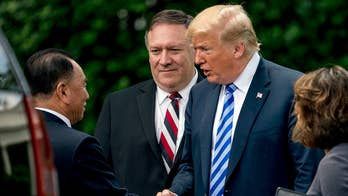 President Trump confirms June 12th summit after meeting with Kim Jong Un's top aide.