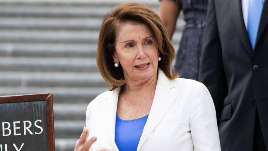 Pelosi downplays the benefits of May's strong jobs report