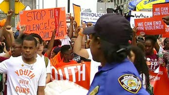 Activists mark National Gun Violence Awareness Month with rallies in San Francisco, Chicago and New York City; Bryan Llenas reports.