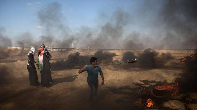 Israel strikes Hamas in Gaza after rocket fire resumes