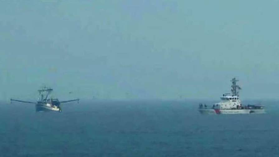 The plane went down during a thunderstorm off the coast of New York.