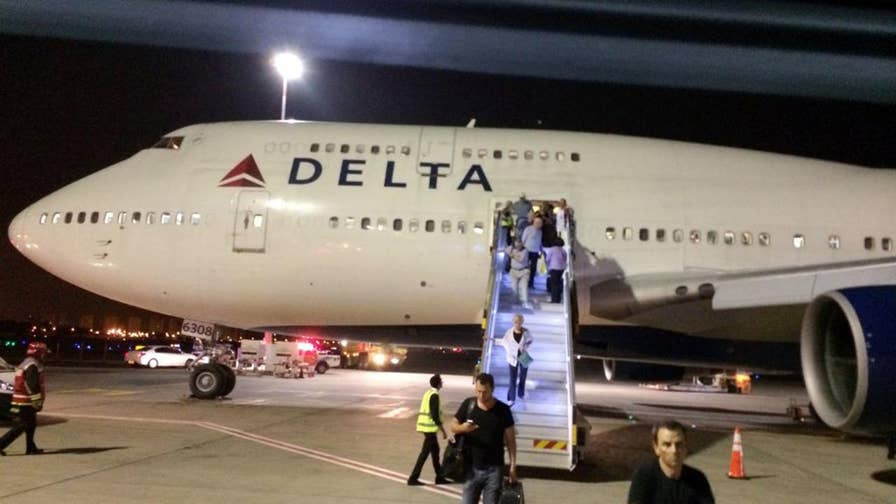 Delta is currently investigating the incident.