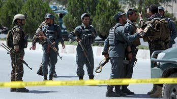 Explosion hit a gathering of top Muslim clerics in Kabul who issued a religious ruling against suicide bombings. Mike Tobin reports.