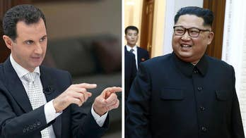 State media reports Syria's President Bashar al-Assad will visit Kim Jong Un in Pyongyang; national security correspondent Jennifer Griffin reports from the Pentagon.