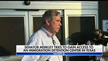 The Five Reacts to Jeff Merkley at Immigration Center
