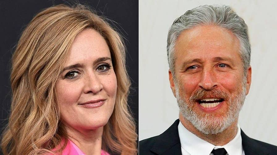 Jon Stewart defends Samantha Bee over vulgar comments made about Ivanka Trump.