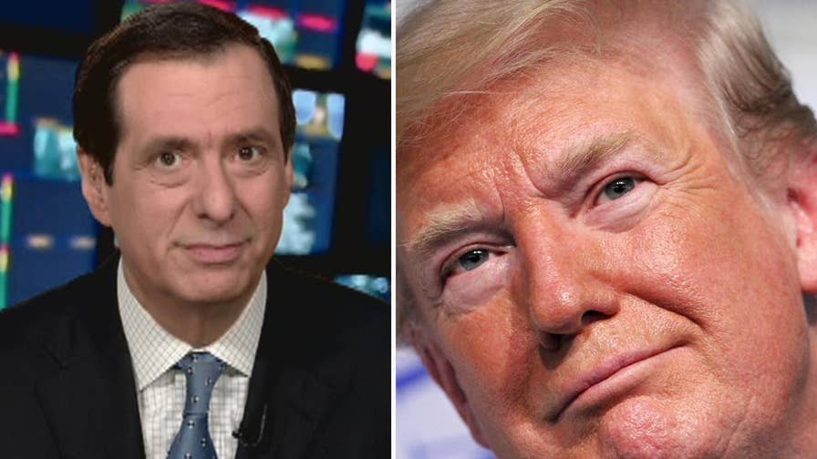 'MediaBuzz' host Howard Kurtz weighs in on the media debating President Trump's tweet that he could pardon himself, but won't need to.
