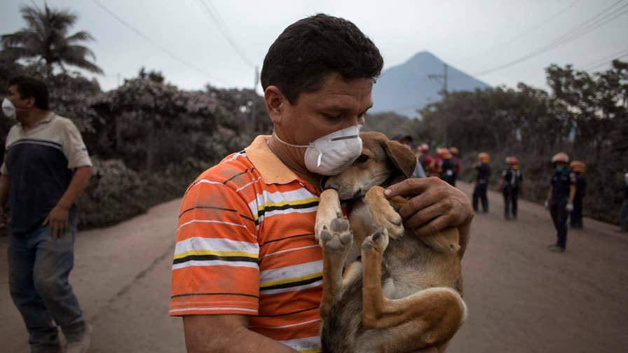 Guatemala's most violent volcanic eruption in more than 100 years sent lava flowing into rural communities Monday, leaving at least 62 people dead.