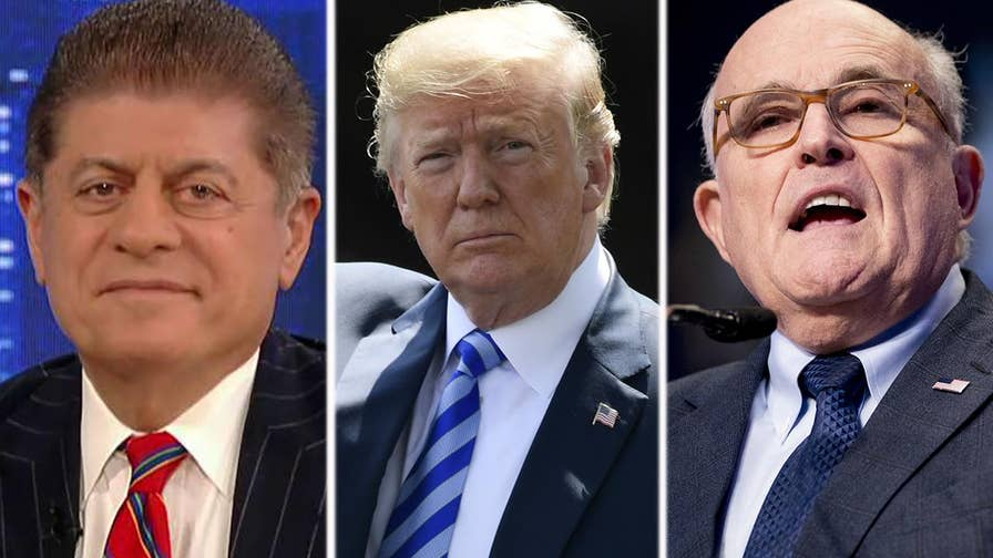 Fox News senior judicial analyst, Judge Andrew Napolitano reacts to new questions surrounding the Mueller probe and unleashes on President Trump's legal team on 'The Story.'