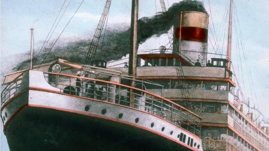 Titanic discovered during top secret mission