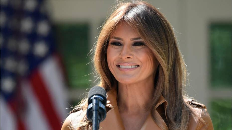 Media claims first lady Melania Trump missing