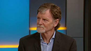 Supreme Court sides with Colorado baker who refused to bake a wedding cake for a same-sex couple. Jack Phillips speaks out on 'Fox & Friends.'
