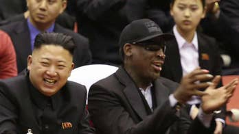 Reports say that the former NBA star will be in the country prior to the president's meeting with the North Korean leader, Fox Business Network host Charles Payne provides insight on 'Your World.'
