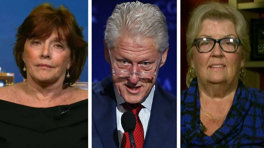 Clinton accusers join 'The Ingraham Angle' to share their outrage at former President Bill Clinton's NBC interview.