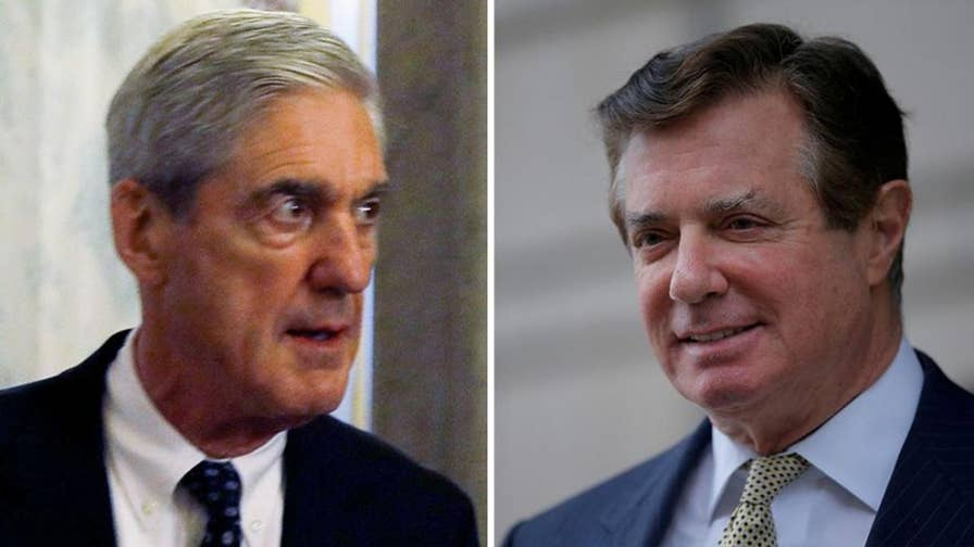 Special counsel is trying to put Manafort in jail. John Roberts reports from the White House.