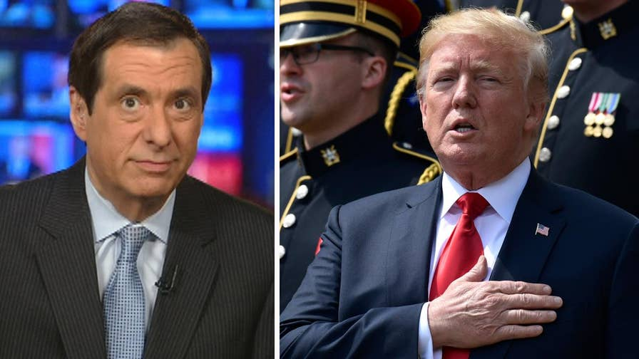 'MediaBuzz' host Howard Kurtz weighs in on the media uproar after President Trump dis-invited the Philadelphia Eagles from visiting the White House.
