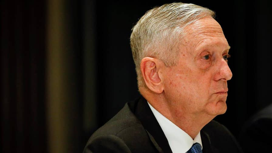 Defense Secretary Mattis says U.S. will not be discussing the removal of military forces from Korea in exchange for North Korea shuttering its nuclear program.