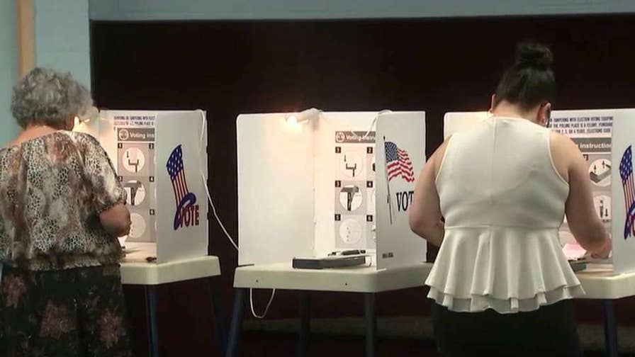 California's jungle primary format opens possibilities for November; Peter Doocy reports from San Diego.
