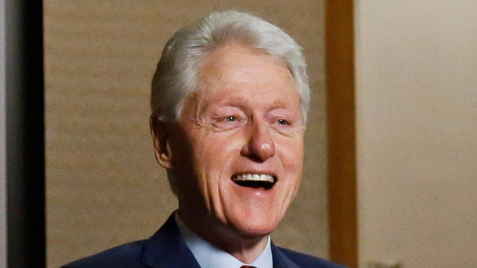 Bill Clinton admits he 'got hot under the collar'