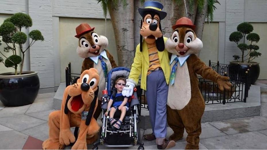 Disney World criticized by mother of disabled child