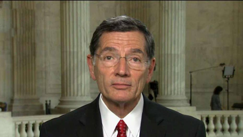 Sen. Barrasso on McConnell canceling recess, 2018 midterms