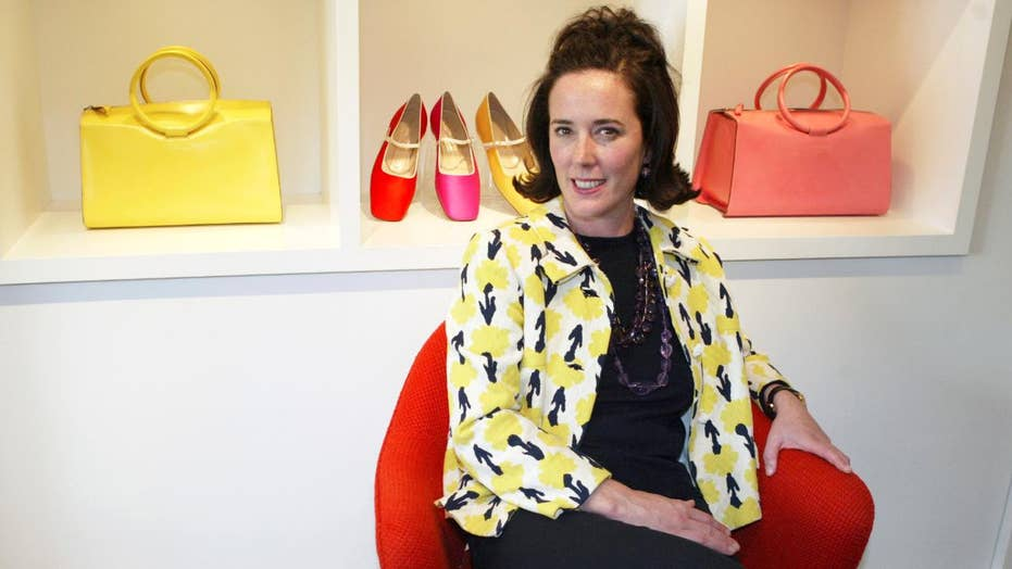 What led fashion designer Kate Spade to take her own life?