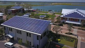 City of the future? The small Florida community looks to make history as America's greenest city; Phil Keating reports.
