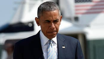 A Republican congressional report says the Obama administration deliberately misled Congress and the public in its efforts to funnel billions of dollars to Iran as part of the nuclear deal; Rich Edson reports from the State Department.