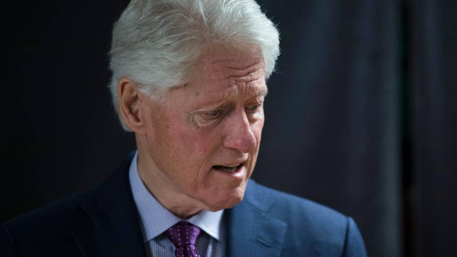 Former President Bill Clinton joins 'The Late Show with Stephen Colbert' to discuss NBC interview.