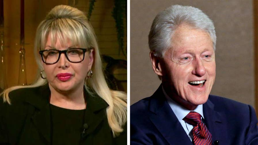 Clinton accuser Gennifer Flowers reveals sexual harassment accusation against the former president on 'The Ingraham Angle.'