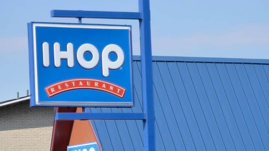 Twitter users upset after popular breakfast chain announces it will flip their name to 'IHOb.'