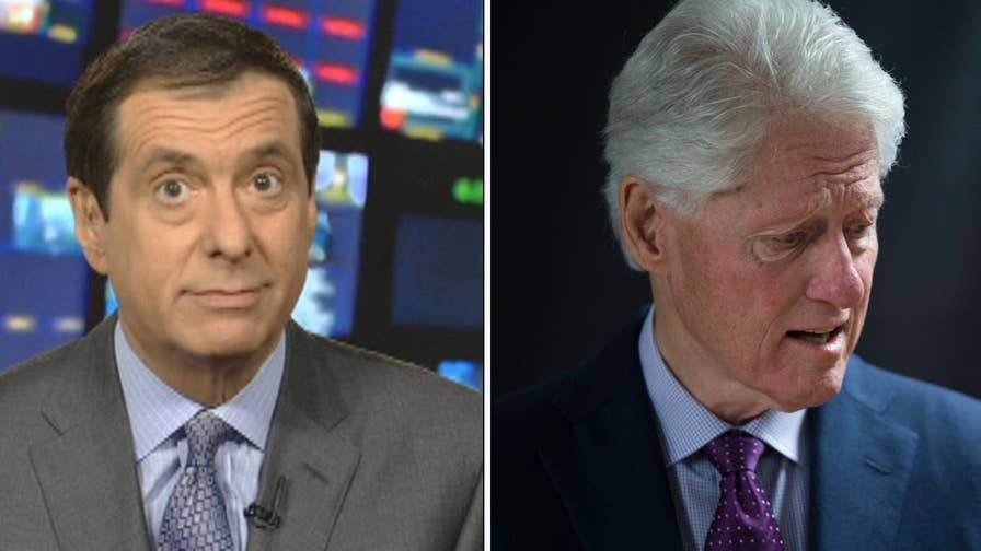'MediaBuzz' host Howard Kurtz weighs in on the media confronting former President Bill Clinton's 'tone-deaf' remarks about the Monica Lewinsky scandal.