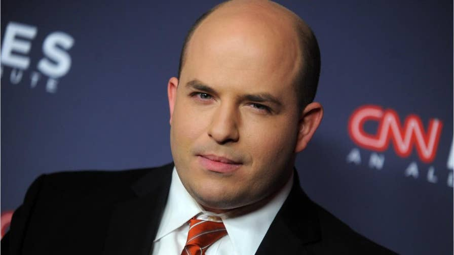 CNN's Brian Stelter was mocked on twitter for his response to a tweet President Trump made regarding the absence of the first lady.
