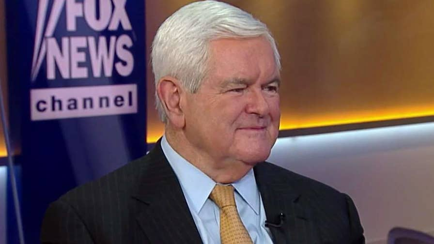 Former Speaker of the House joins 'The Story' with reaction to results of eight state primary elections and insight from his new book, 'Trump's America: The Truth about Our Nation's Great Comeback.'
